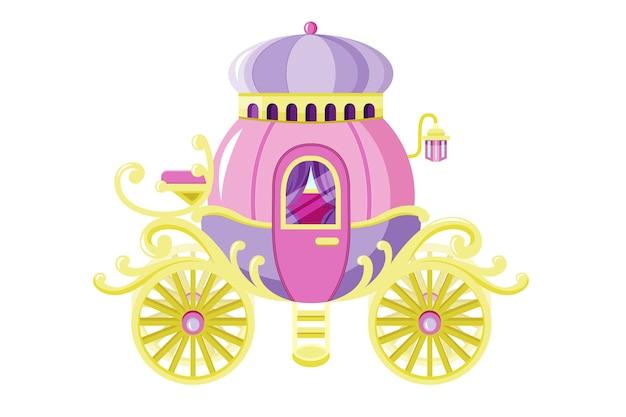 Сказочная коляска иллюстрированная тема