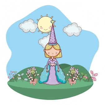 Fairytale character cartoon