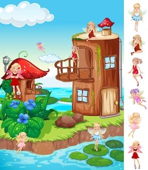 Fairytale and fantasy world
