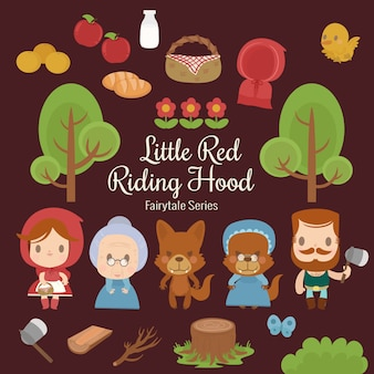 Fairytale series little red riding hood