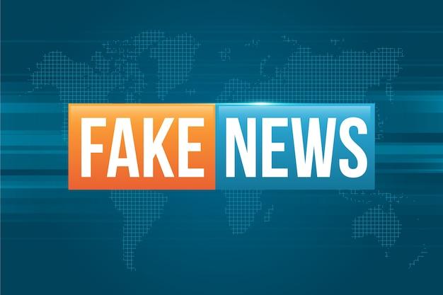 Fake news broadcasting