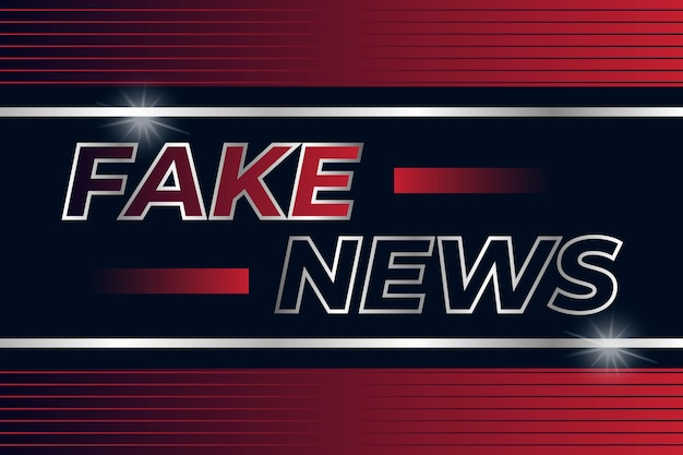 偽のニュースのコンセプト
