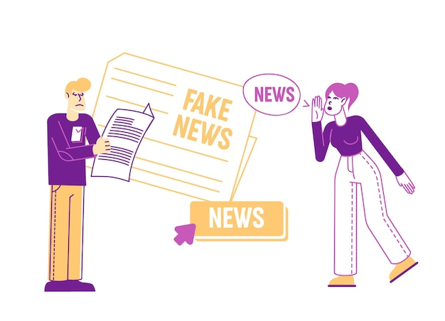 Fake news information and disinformation