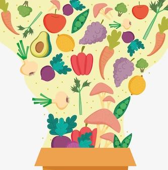 Осенняя здоровая еда