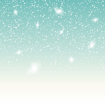 Falling snow on the blue background. christmas snowflake  backdrop. white snow decoration isolated.