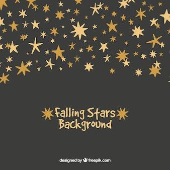 Falling stars background
