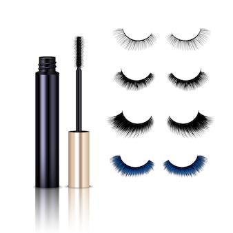 Реалистичный набор туши false lashes