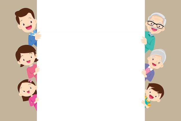Family background frame