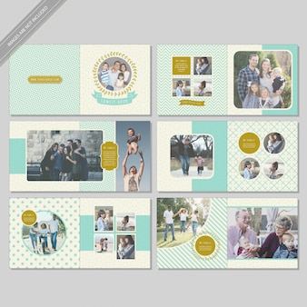 Family book layout design
