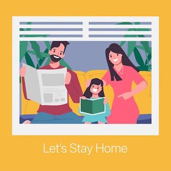 Семейные опекуны помогают детям учиться дома.