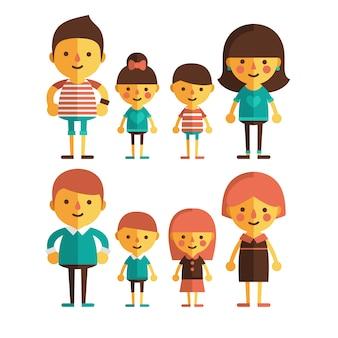가족 디자인 컬렉션