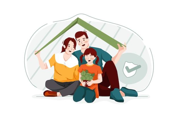 가족 보험 그림