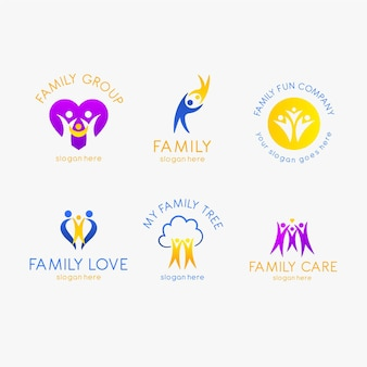 Family logo collection