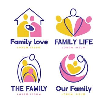 Family logo collection