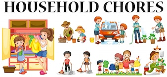 chores vectors photos and psd files free download