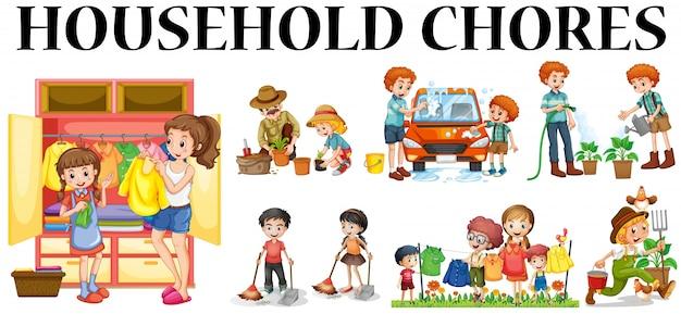 Household Tasks for Children