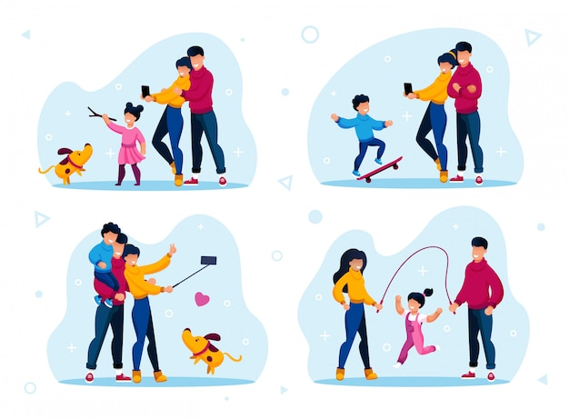 Family recreation and active lifestyle