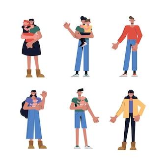 Семейный набор, тема отношений и поколения
