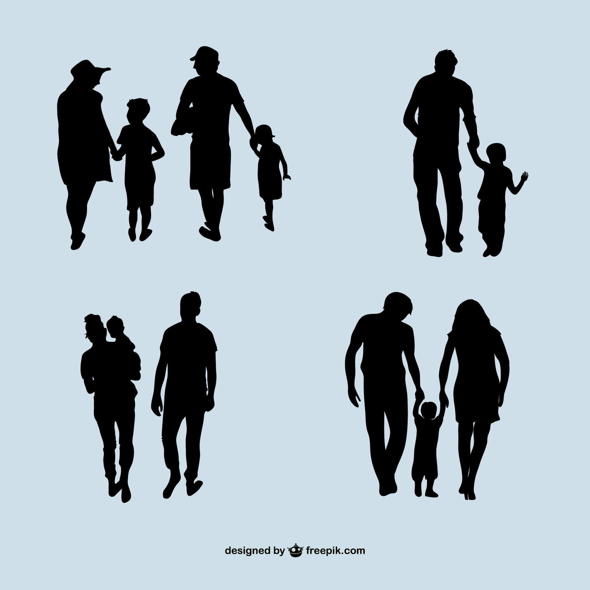 Silhouettes Vectors 20 900 Free Files In Ai Eps Format