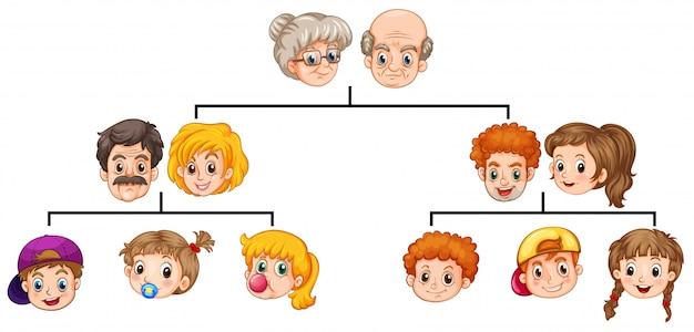 나무에서 가족