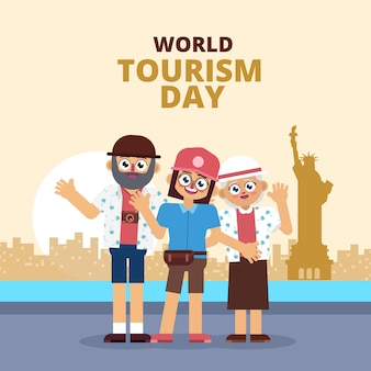 Family vacation on world tourism day
