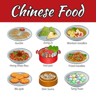 Famous food of chinese