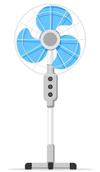 Fan for cooling air close-up
