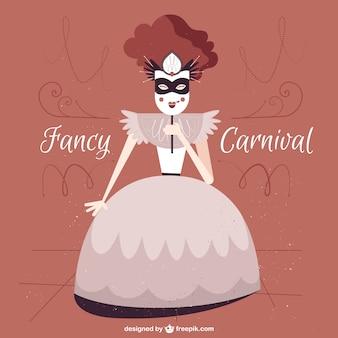 Fancy carnival illustration