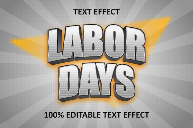 Fancy editable text effect silver orange