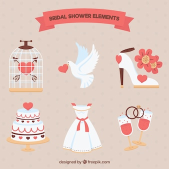 Fantastic accessories for bridal shower
