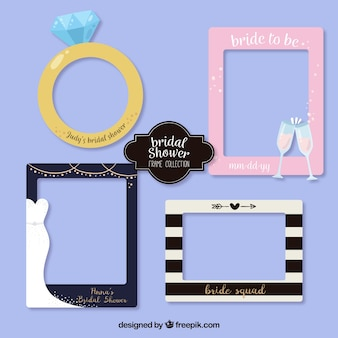 Fantastic bridal shower frame pack