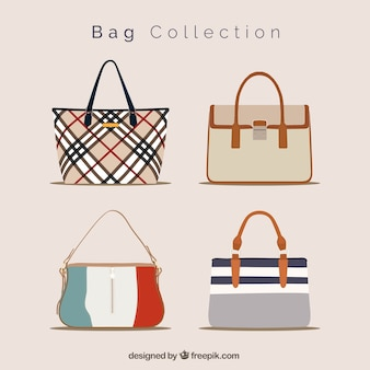 Fantastic collection of elegant handbags