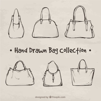 Fantastic collection of hand-drawn bags
