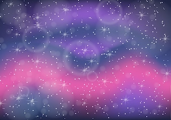 Fantastic colorful galaxy,Abstract cosmic background