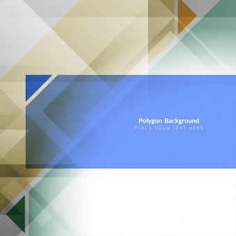 Fantastic geometric background template
