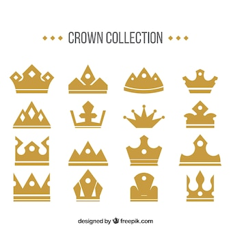 Fantastic gold crown pack