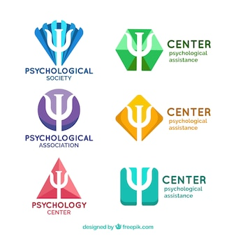 Fantastic logos for psychological centers
