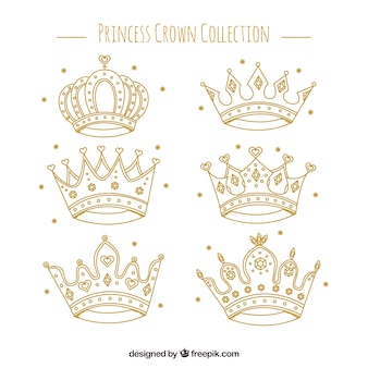 Fantastic selection of princess crowns
