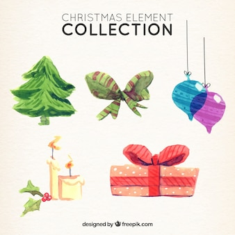 Fantastic selection of watercolor items for christmas