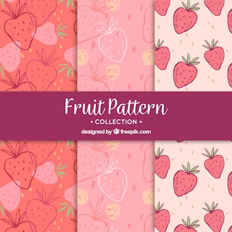 Fantastic strawberry patterns
