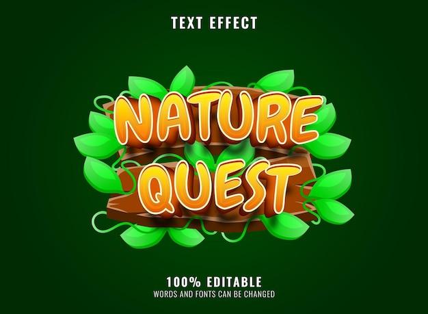 Fantasy heroes golden luxury editable text effect