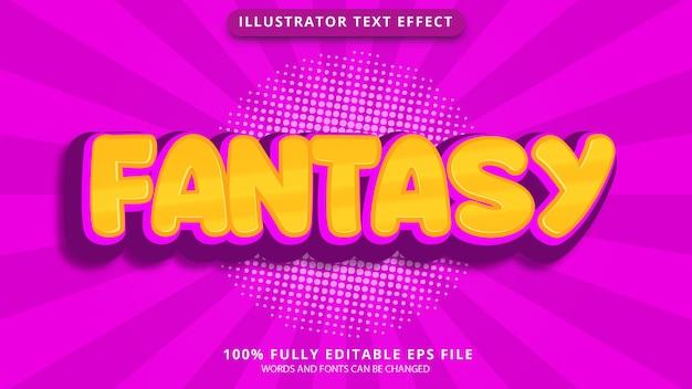 판타지 텍스트 효과 편집 가능한 eps 파일