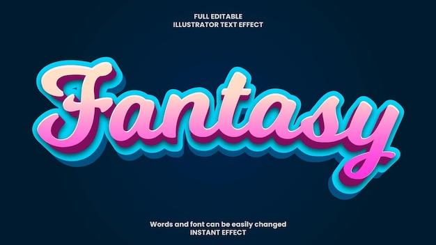 Fantasy text effect