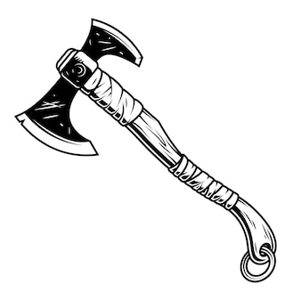 Fantasy warrior axe