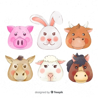 Farm animal collectio