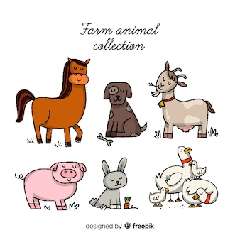 Farm animal collection