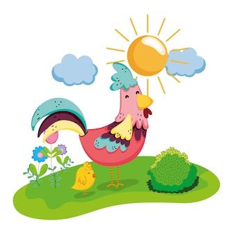 Farm and animals cartoons