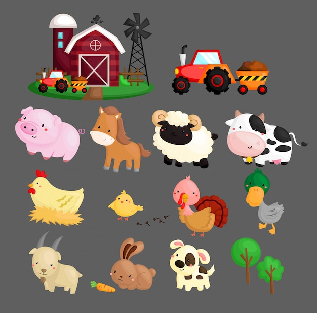 Farm animals