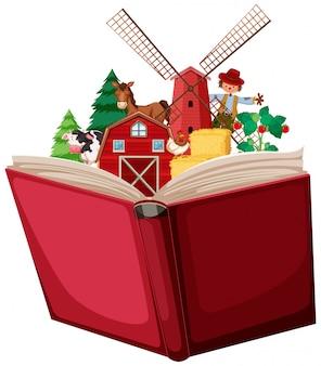 Farm in a book