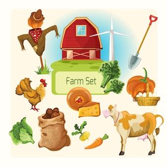 Farm decorative set